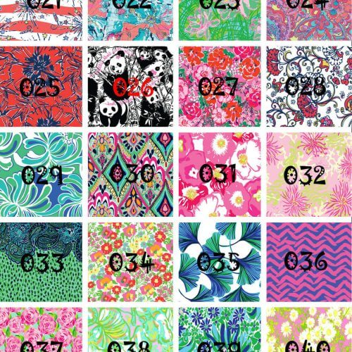 Lilly Pulitzer Vinyl - Pattern HTV, printed HTV, adhesive vinyl