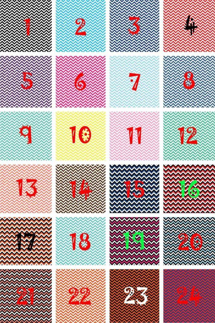 Chevron Vinyl Patterns - HTV or Adhesive Vinyl Sheets