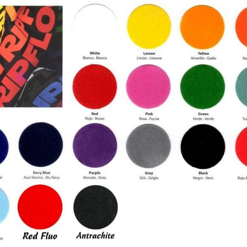 Siser StripFlock HTV Color Chart 2019